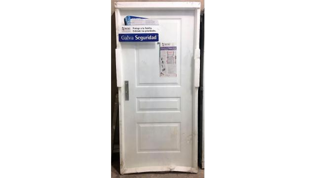Aberturas puertas puertas de chapa aluminio for Precio de puertas de aluminio en rosario